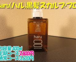 haru(ハル)黒髪スカルプ・プロ評価_見出し