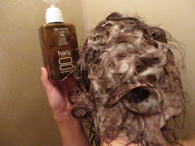 haru(ハル)黒髪スカルプ・プロシャンプー_髪の毛シャンプー