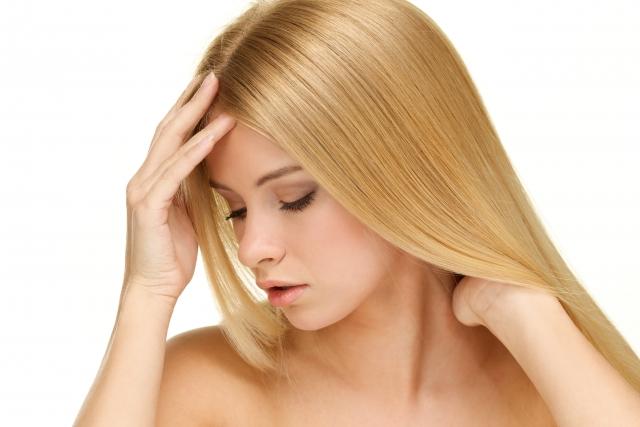 髪の毛サラサラ