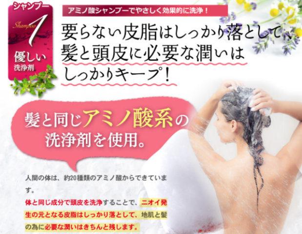 ハーブガーデン公式_頭皮の臭い_要らない皮脂はしっかりと落として髪と頭皮に必要な潤いはしっかりキープ