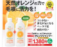 エスコスオレンジシャンプー_公式ホームページトップ画像