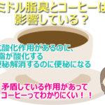 コーヒーの体への影響は?女性の頭皮の臭いやミドル脂臭の原因は?