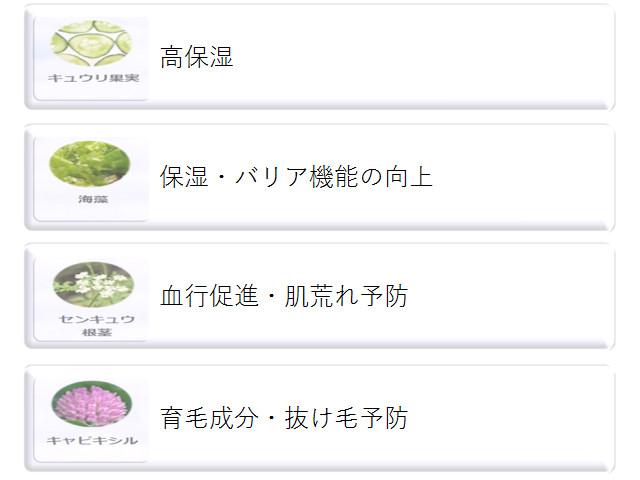 haru(ハル)黒髪スカルプ・プロ_有効成分②