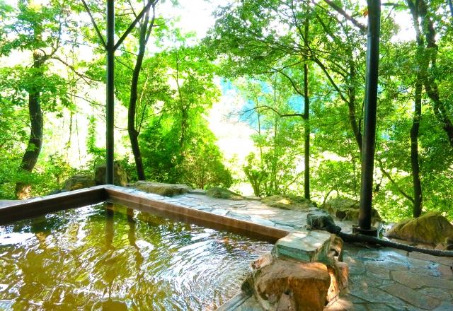 温泉に浸かって脂漏性皮膚炎を治したい!入浴療法で自宅で簡単ケア!