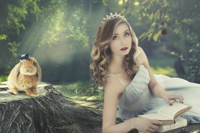 クリアハーブミストの悪評 女性 森林_ウサギ