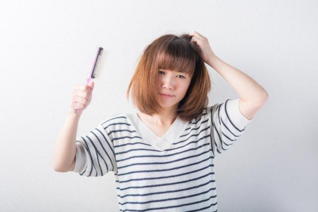 髪の毛に効果がなかった女性
